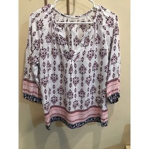 Artisan NY women's boho top
